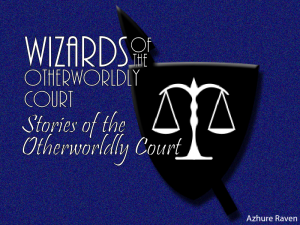 Stories of the Otherworldly Court 1